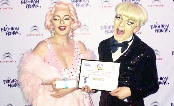 Local drag artiste wins major award