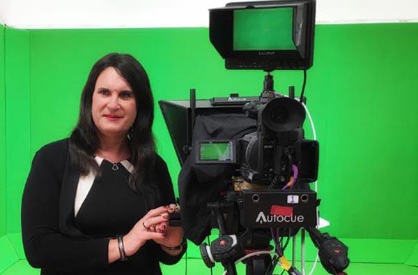 Local trans activist becomes first transgender newscaster on European terrestrial TV