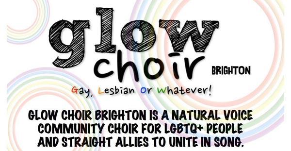 Glow Choir Brighton – Gay, Lesbian or Whatever!