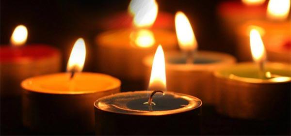 Baghdad bombing candlelit vigil