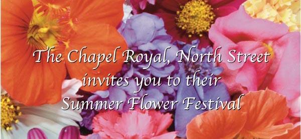Summer Flower Festival at Chapel Royal