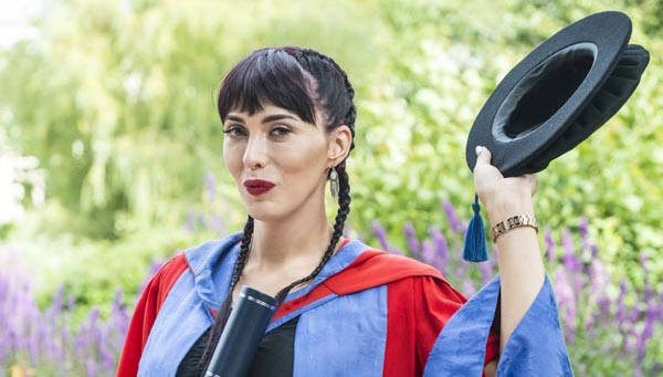 Trans campaigner honoured by University of Brighton
