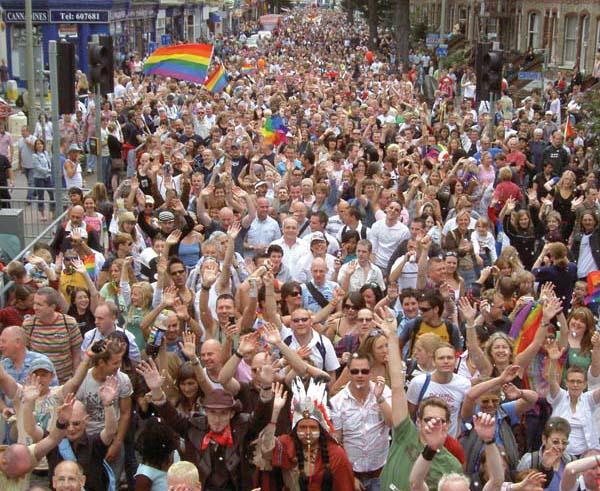 'TOWARDS ZERO HIV' – Martin Fisher Foundation to march at Brighton Pride