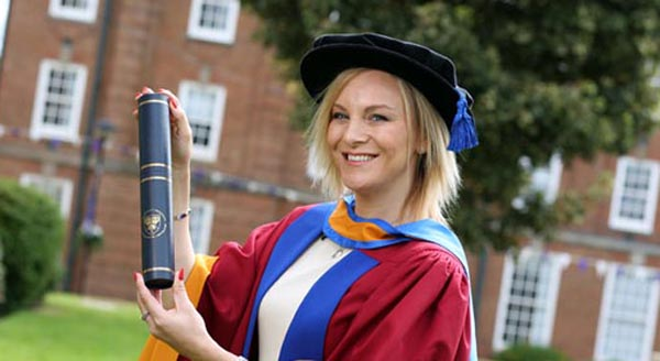 Trans icon receives honorary degree