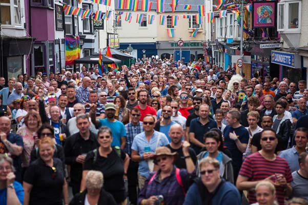 PICTURE DIARY: Queens Arms Pride Village Street Party
