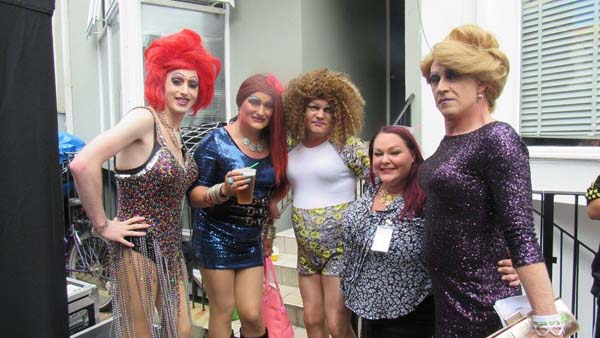 PICTURE DIARY: Brighton Pride Village Party@Marine Tavern