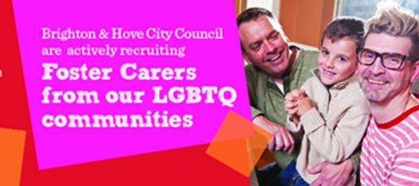 Brighton Council recruiting LGBTQ foster carers