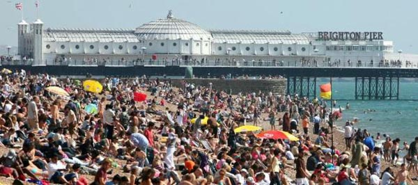 Stay safe on Brighton beach this bank holiday weekend