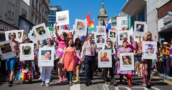 PICTURE DIARY: Brighton Pride remembers Orlando victims