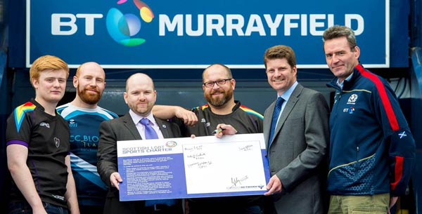 Scottish Rugby signs up to LGBT+ Sports Charter