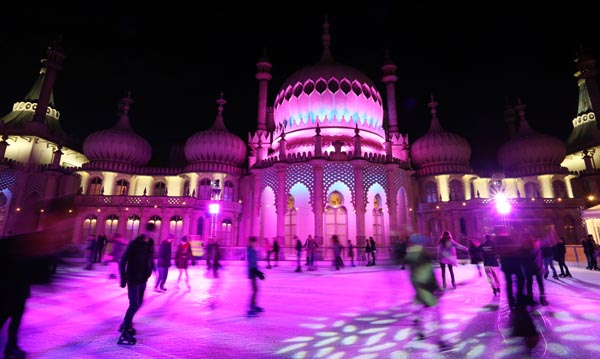 Tickets go on sale for Royal Pavilion ice rink Winter season