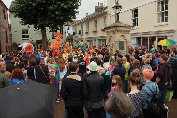 Over 1,000 attend Totnes Pride