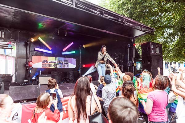 Thousands celebrate first Southampton Pride in 10 years
