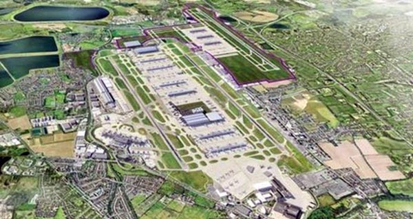 Government choose third runway for Heathrow