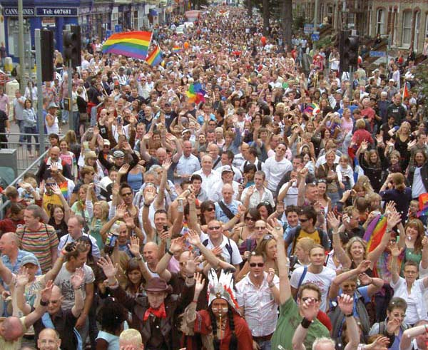 Community groups invited to bid for a grant to put Pride in our city