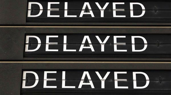 Rail delay compensation improved