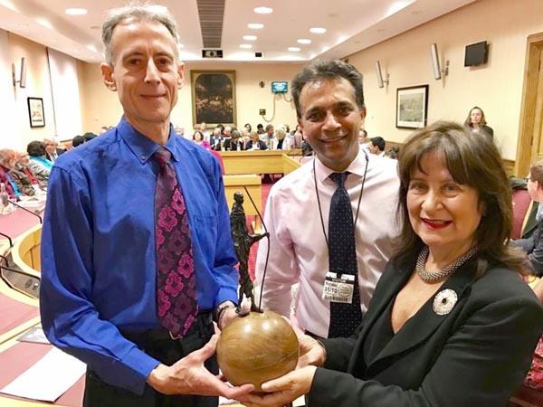 Tatchell receives Gandhi International Peace Award