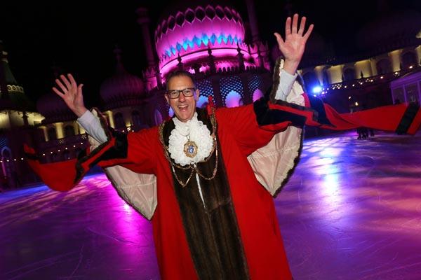 Olympic hopefuls open Royal Pavilion Ice Rink