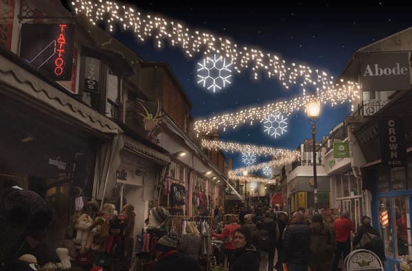 Steve Coogan to turn on city centre Christmas lights