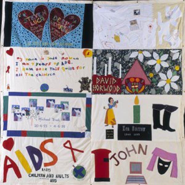 Iconic AIDS Quilt to be displayed in London