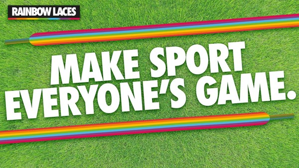 Stonewall and Premier League team up for LGBT+ Rainbow Laces campaign