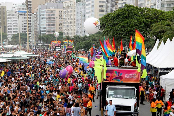 Gay Pride returns to Brazil's Olympic city