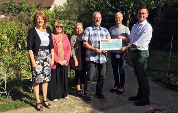 Arun Gay Society raise £300 for Sussex Beacon