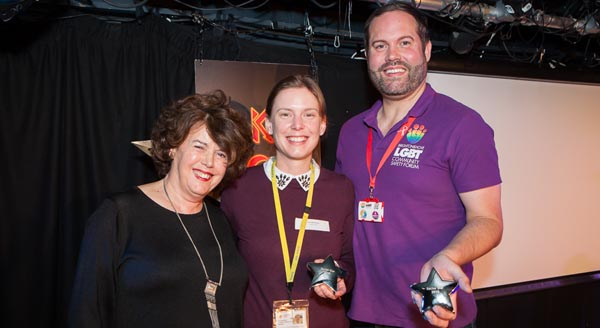 Safety Forum chair receives Community Works Sector Star Award