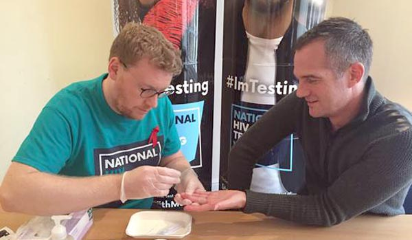 Hove MP tests for HIV ahead of National HIV Testing Week