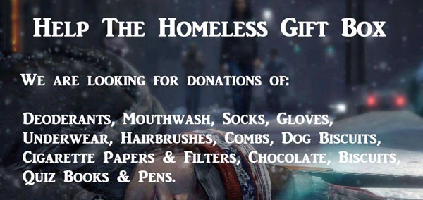 Help the homeless in Brighton & Hove this Christmas
