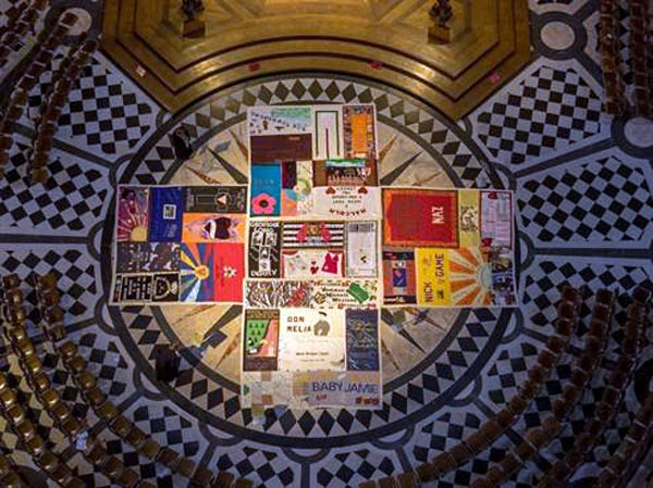 Furnish and Rayner support iconic AIDS quilt at St Paul's in memory of lives lost