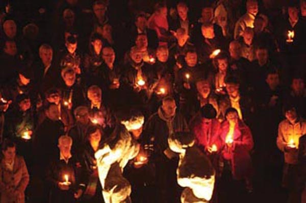 World AIDS Day: Candlelit Vigil today from 6pm