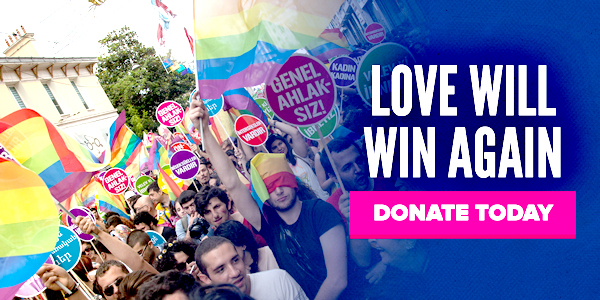 Make a donation and help Turkish Pride in 2017