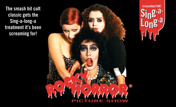 B RIGHT ON FESTIVAL: LGBT History Month: Sing-a-long-a 'Rocky Horror Picture Show'