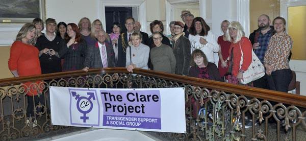 Mayor hosts reception for Transgender charity