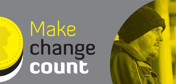 Make change count this Winter for Brighton's homeless