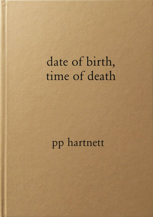 book review: date of birth, time of death:  pp hartnet