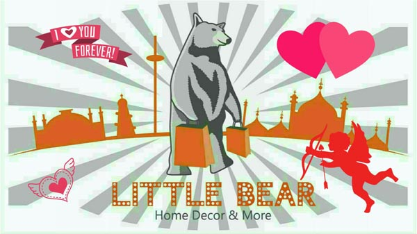 Give your love a gift from 'Little Bear' this Valentines