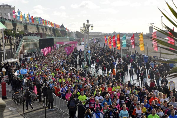 Norman Cook to start the Vitality Brighton Half Marathon 2017