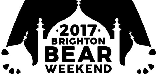 Brighton Bear Weekend launch new logo for 2017
