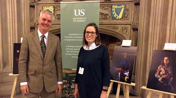 Brighton Kemptown MP visits Sussex University's '12 Women in Academia Exhibition'