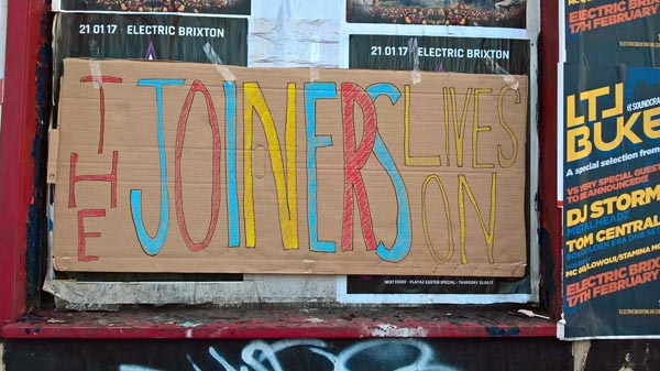 Campaigners protest two year closure of the Joiners Arms
