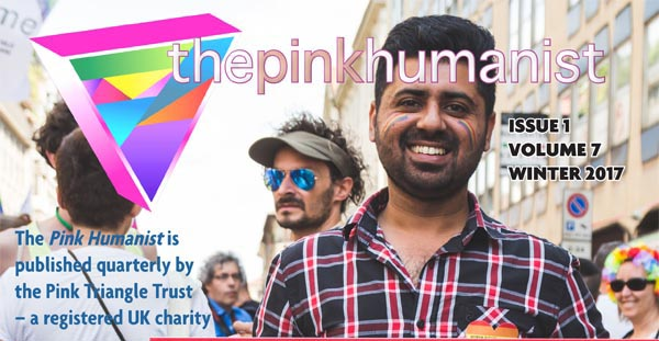 Winter issue of Pink Humanist ready for download