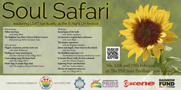 B RIGHT ON LGBT Festival: LGBT History Month: Soul Safari 1 – programme of events