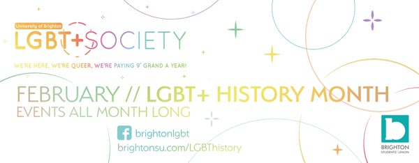 Students celebrate LGBT History Month