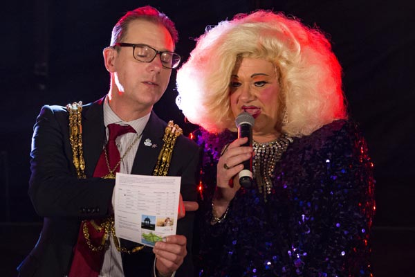 Help the Mayor raise money for his 27 local charities