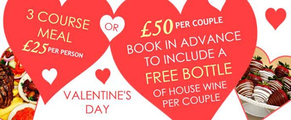 FOOD & DRINK: Celebrate your Valentines at Camelford Arms