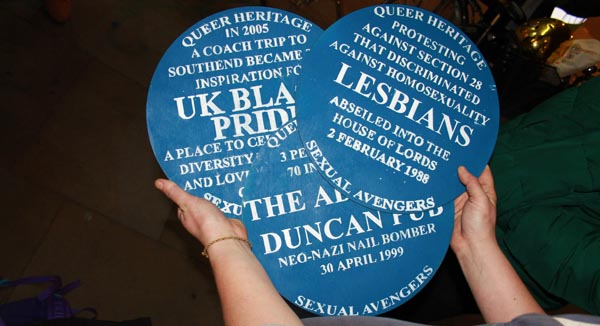 Activists take over London landmarks to reclaim our LGBT+ history