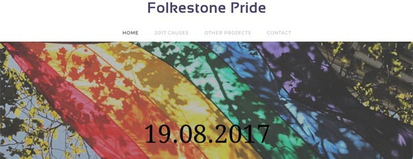 Folkestone plans for a Pride in 2017