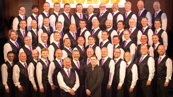 B RIGHT ON Festival: LGBT History Month: Brighton Gay Men's Chorus to give free concert at Phil Starr Pavilion on Sunday